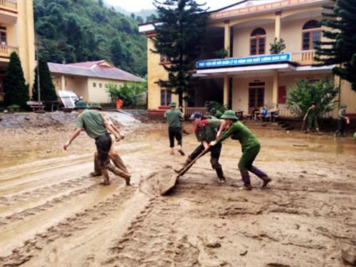 Vietnam aúna esfuerzos para ayudar a las víctimas de las inundaciones en la región del noreste - ảnh 2