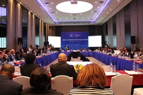 Inaugurada la II Reunión del Grupo Sanitario de APEC - ảnh 1