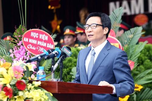 Viceprimer ministro de Vietnam orienta la renovación de la Academia Técnica Militar - ảnh 1