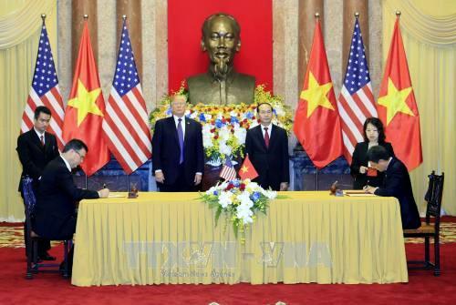 Vietnam y Estados Unidos alcanzan Declaración Conjunta para reafirmar sus relaciones hacia el futuro - ảnh 1