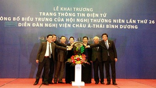 Vietnam presenta la plataforma digital sobre el 26 Foro Parlamentario Asia-Pacífico - ảnh 1