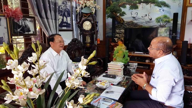 Periodista y testigos evocan a Fidel Castro en Quang Tri  - ảnh 2