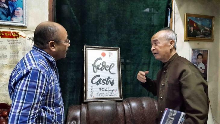 Periodista y testigos evocan a Fidel Castro en Quang Tri  - ảnh 3