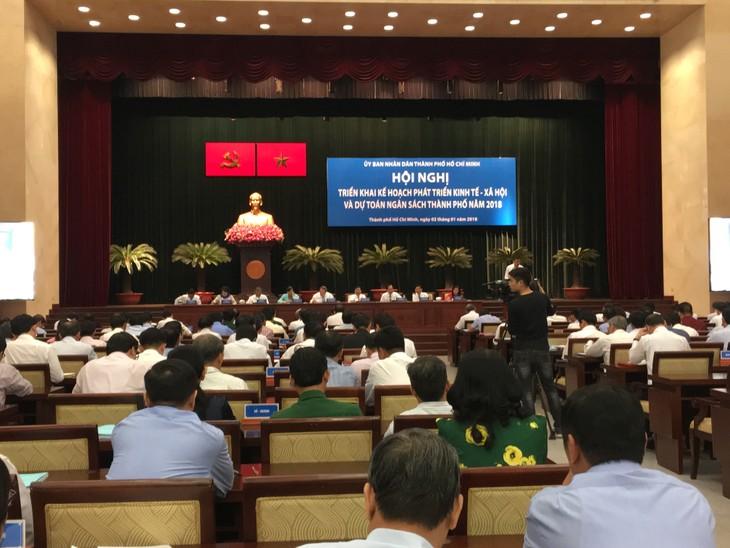 2018, año del cumplimiento de mecanismos especiales para el desarrollo de Ciudad Ho Chi Minh - ảnh 1