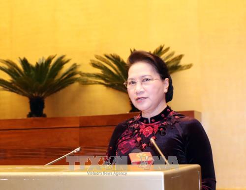 Presidenta parlamentaria de Vietnam ensalza los 72 años del progreso del Legislativo   - ảnh 1