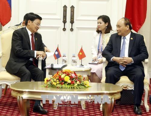 Vietnam consolida relaciones de cooperación con Laos y Camboya - ảnh 1