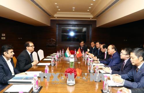 Primer ministro de Vietnam termina su agenda de trabajo en la India - ảnh 1