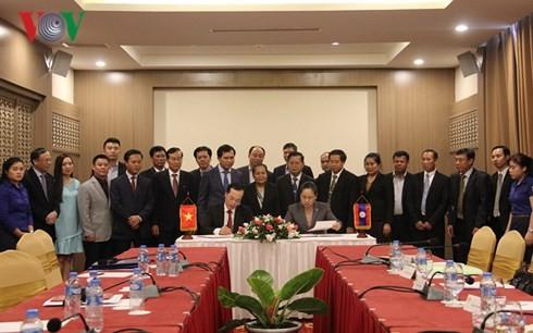 Laos ensalza el apoyo de Vietnam en la construcción de una nueva sede parlamentaria - ảnh 1