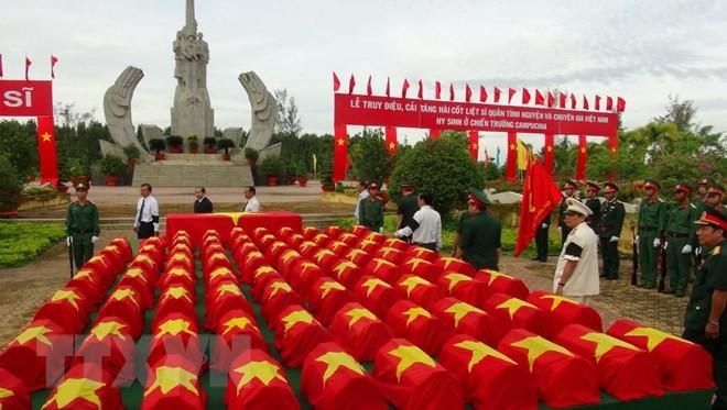 Vietnam esclarece las causas de la guerra patria en la frontera del suroeste - ảnh 1