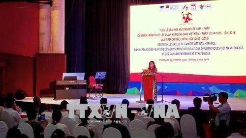 Vietnam y Francia consolidan la amistad con actividades culturales y artísticas - ảnh 1