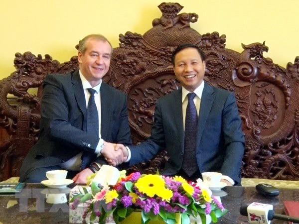 Vietnam y Rusia fortalecen la cooperación territorial  - ảnh 1