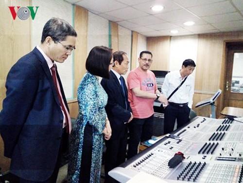 Vietnam y Egipto fomentan la cooperación cultural en radio y televisión - ảnh 1