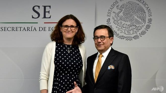 Unión Europea y México alcanzan consenso en el nuevo tratado de libre comercio - ảnh 1