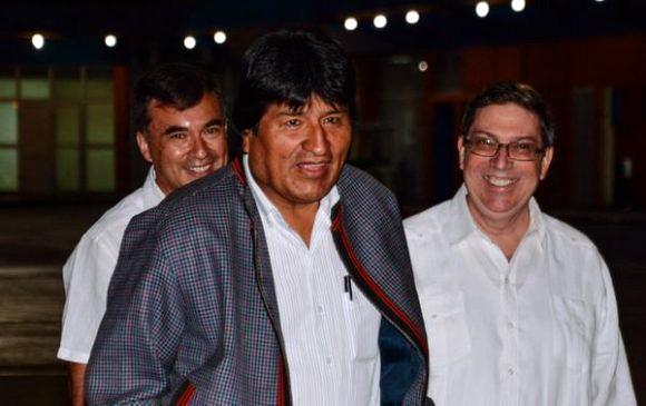 Presidente de Bolivia visita Cuba - ảnh 1