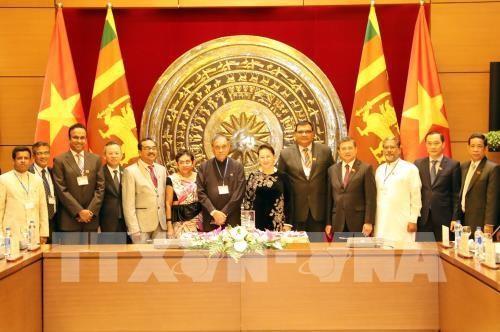 Vietnam y Sri Lanka fomenta la cooperación parlamentaria - ảnh 1