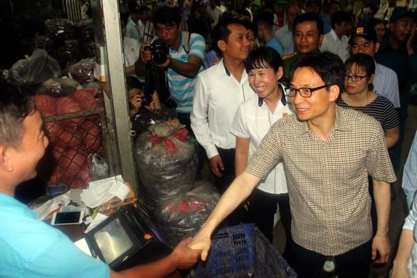 Ciudad Ho Chi Minh consolida el control del origen de alimentos en los mercados principales - ảnh 1