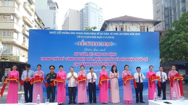 Comienza el Mes de Seguridad e Higiene Laboral en Ciudad Ho Chi Minh - ảnh 1