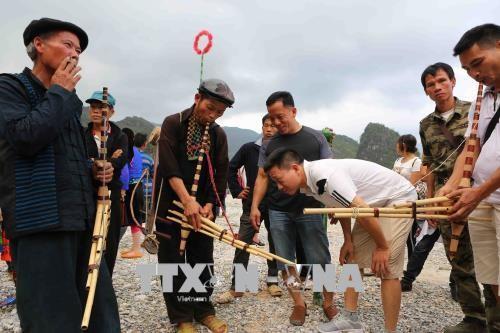 El Festival de Mercado de Amor de Khau Vai 2018 destaca la identidad cultural local - ảnh 1