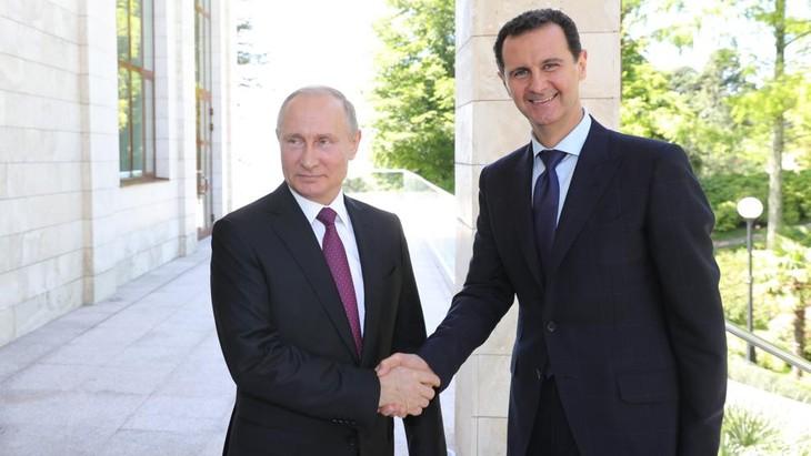Nuevos avances en el proceso de transición en Siria - ảnh 1