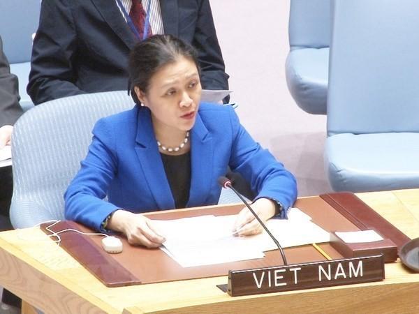 Vietnam insta al cumplimiento serio de las leyes internacionales en la solución de conflictos - ảnh 1