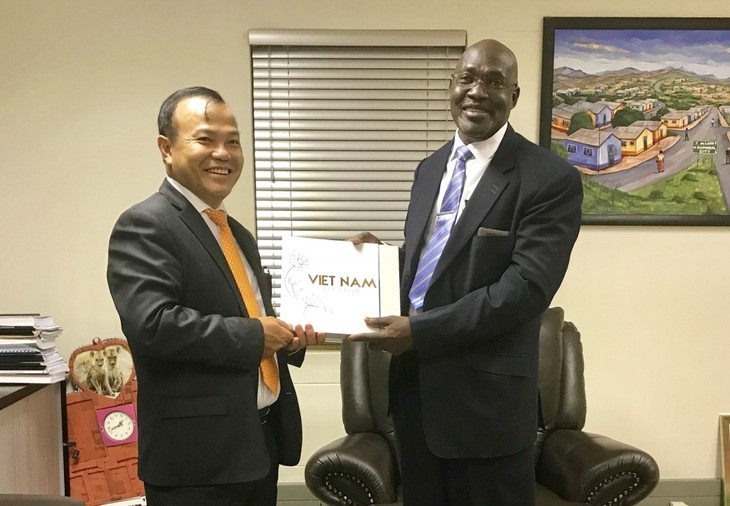 Vietnam fortalece cooperación multifacética con Angola y Namibia - ảnh 1