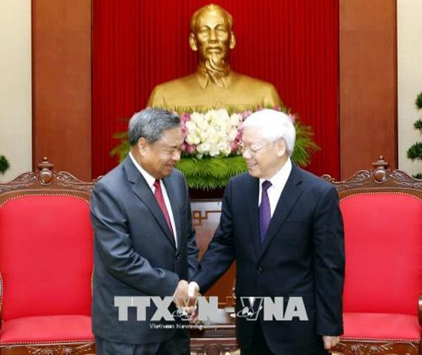 Vietnam y Laos consolidan la cooperación en planificación del personal público - ảnh 1