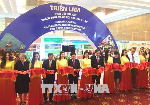 Comienza la reunión de ASEM en zona meridional de Vietnam - ảnh 1