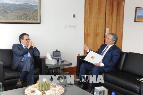 Vietnam y México afianzan cooperación económica y comercial - ảnh 1