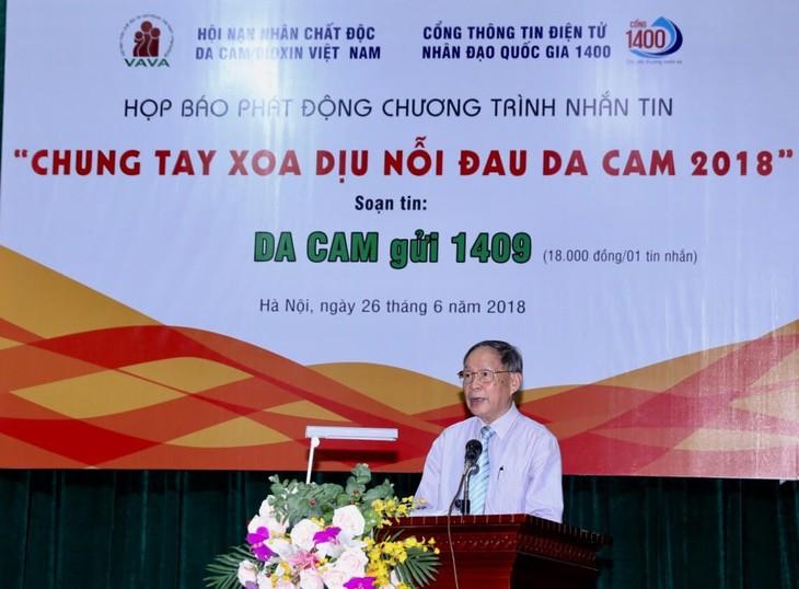 Vietnam aumenta la ayuda humanitaria a víctimas de la dioxina - ảnh 1