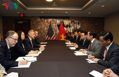Vietnam consolida la cooperación económica y comercial con Estados Unidos - ảnh 1