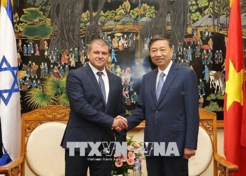Vietnam e Israel fortalecen cooperación en lucha contra crimen - ảnh 1