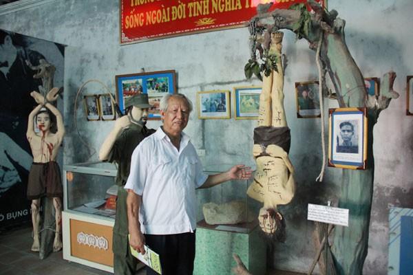 Museo de combatientes revolucionarios encarcelados en guerra educa el patriotismo a los vietnamitas - ảnh 1