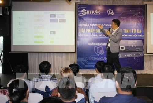 Empresas vietnamitas promueven productos tecnológicos exclusivos - ảnh 1