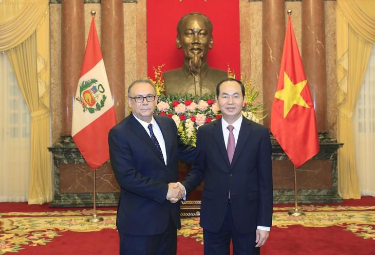 Vietnam y Perú refuerzan relaciones - ảnh 1