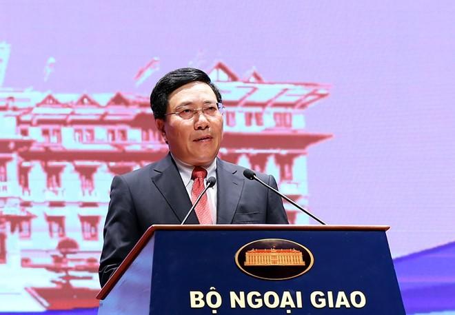 Comienza la XIX conferencia nacional de asuntos externos de Vietnam - ảnh 1
