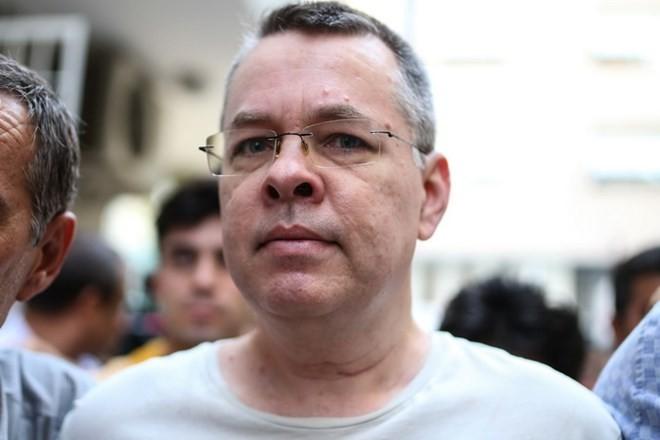Tribunal de Turquía impuga de nuevo la demanda de puesta en libertad para el pastor estadounidense - ảnh 1