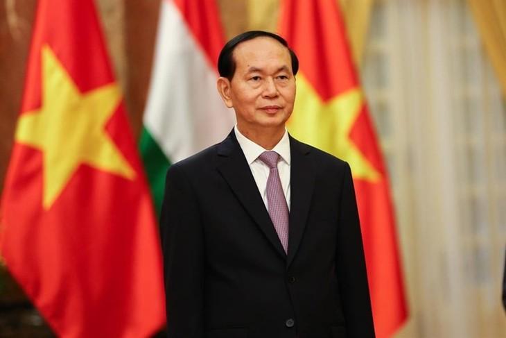 Ciudadanos etíopes dan bienvenida al presidente de Vietnam - ảnh 1