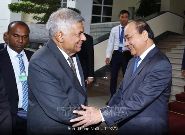 Vietnam y Sri Lanka afianzan las relaciones - ảnh 1