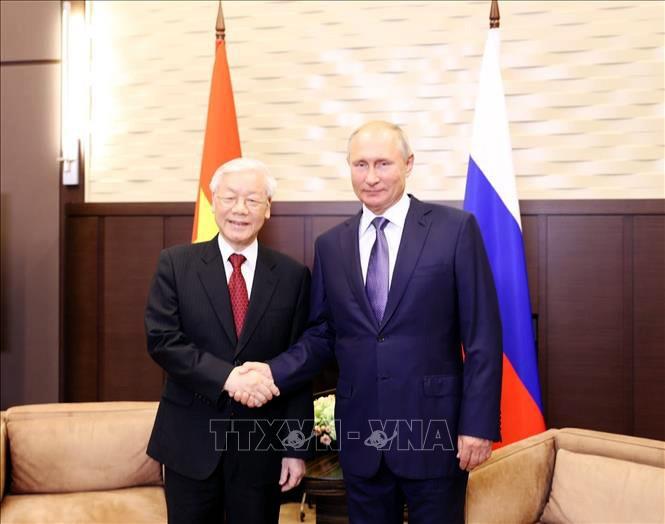 Ciudadanos rusos esperan nuevos frutos en las relaciones con Vietnam - ảnh 1