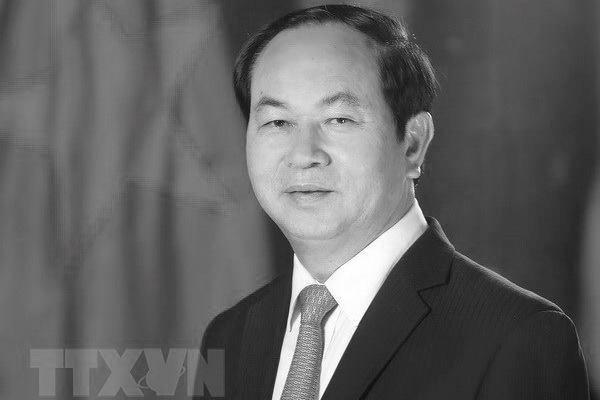 Dirigentes mundiales envían mensajes de condolencia por el deceso del presidente de Vietnam - ảnh 1