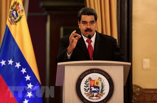 Venezuela entrega nota de protesta por injerencia de Estados Unidos - ảnh 1