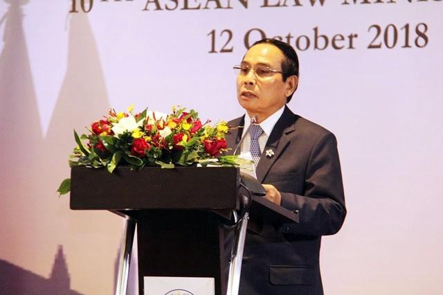 Comienza la X Conferencia de Ministros de Justicia de la Asean en Laos - ảnh 1