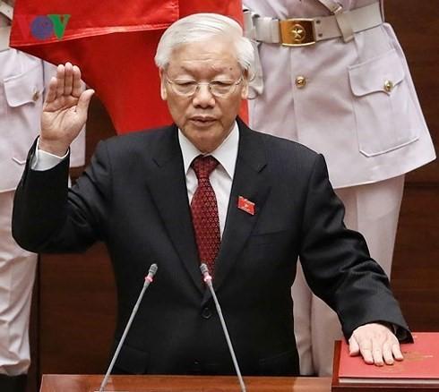 Continúan llegando felicitaciones al nuevo presidente de Vietnam - ảnh 1