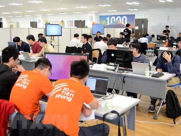 Vietnam y Japón compiten en la final del concurso de programación de inteligencia artificial - ảnh 1
