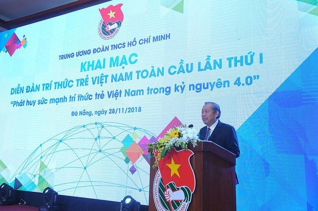 Intelectuales jóvenes vietnamitas contribuyen en gran medida al desarrollo nacional - ảnh 1