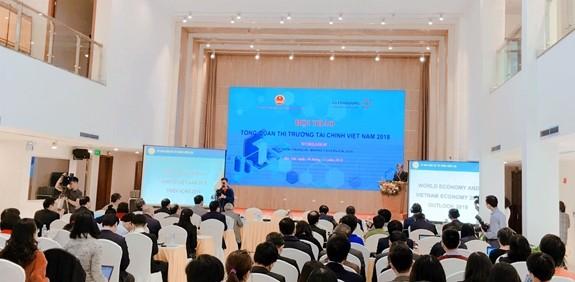 Economía de Vietnam progresa con mejorías en el mercado financiero - ảnh 1