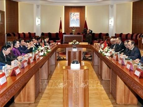 Vietnam y Marruecos fortalecen lazos de cooperación  - ảnh 1