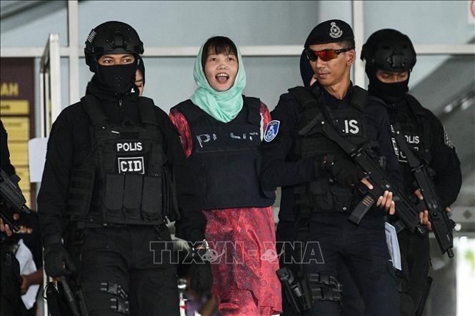 Puesta en libertad la vietnamita acusada de complicidad por muerte de ciudadano norcoreano - ảnh 1