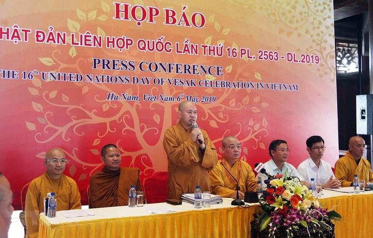 Día de Vesak 2019 en Vietnam espera recibir a mil 650 delegados extranjeros - ảnh 1
