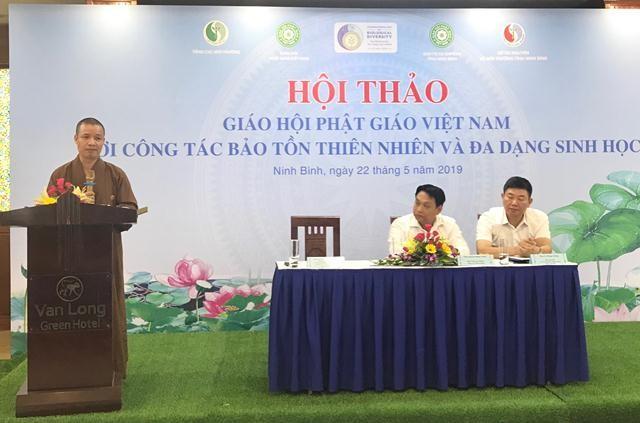 Sangha Budista de Vietnam se suma a los esfuerzos nacionales para proteger la biodiversidad - ảnh 1